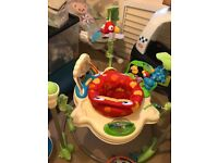Fisher price Rain forest Jumperoo ,swing and various toys