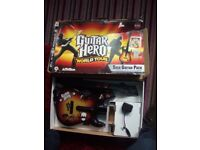 PS3 guitar hero guitar