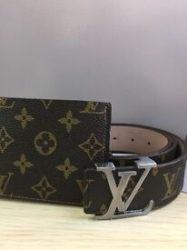 Louis Vuitton Belt and Wallet