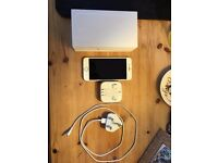 iPhone 6 white/silver 16GB -vodafone - original box included, never used apple earphones and charger