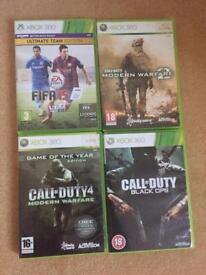 Xbox Games inc Call o Duty