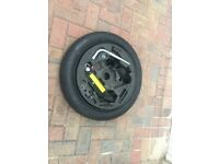 Audi 18 Inch new space saver tyre with Jack set