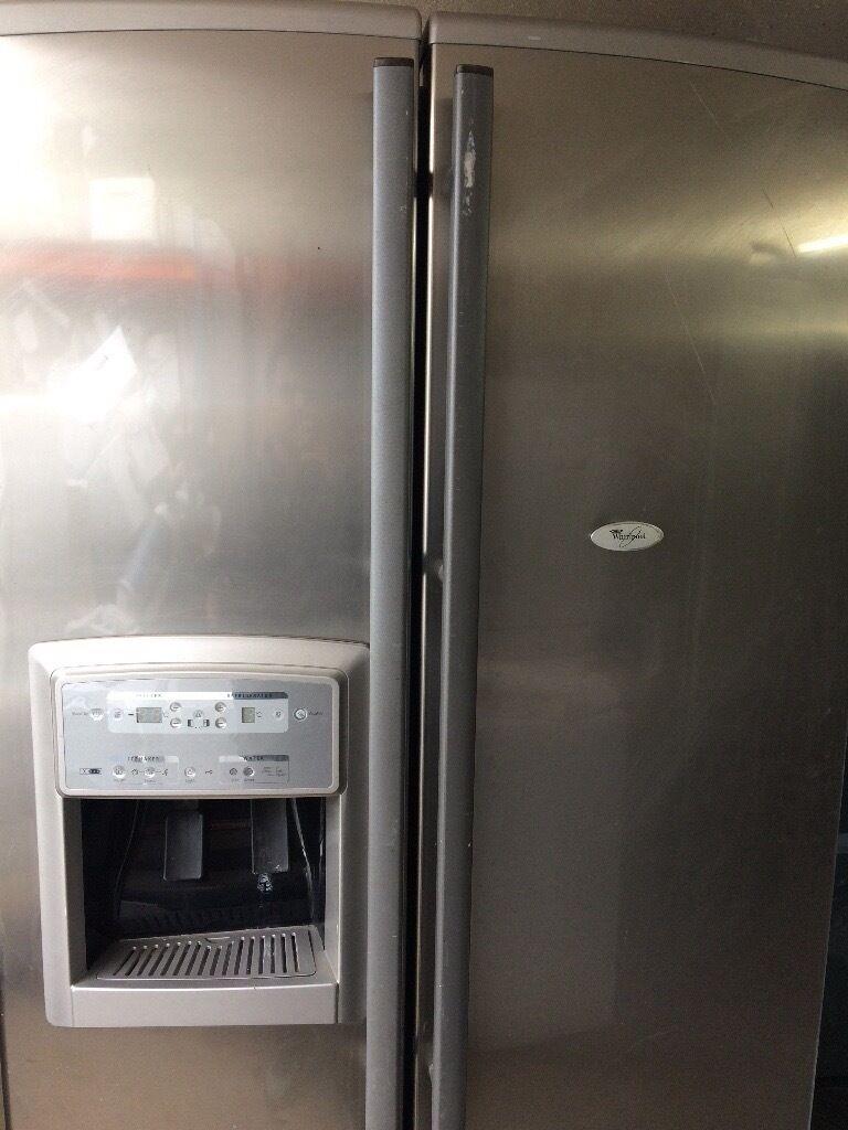 Whirlpool American Style Fridge Freezer Double Door Free
