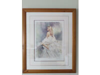 Candlelight/shadows signed print by Gordon King