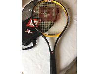 Wilson Tour Pro 25 Junior Tennis Racket - 3 7/8 with case