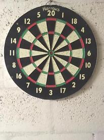 Harrows dart boad