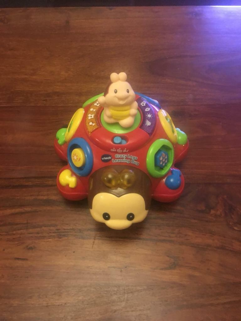 Vtech crazy legs learning toy