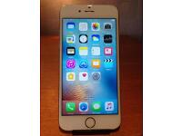 APPLE IPHONE 6 SILVER 16GB O2/GIFFGAFF