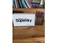 SUPERDRY men's aftershave in box