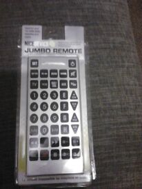 All for one tv remote does it for them all
