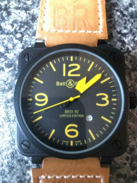 Bell&Ross br01-92 limited edition for sale  St Albans, Hertfordshire