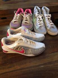 Ladies/Girls Trainers bundle Size 4 & 4.5