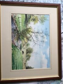 Framed prints & original mainly Whalley/Clitheroe area