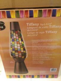 Lava lamp Tiffany style