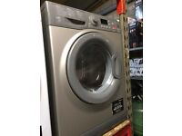 HOTPOINT GRAPHITE 8KG WASHING MACHINE RECONIDITIONED