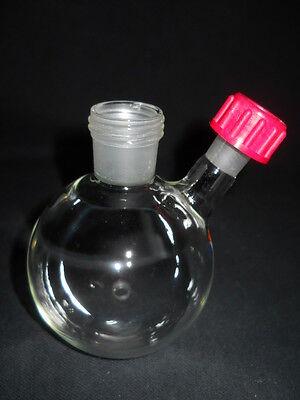 Radleys Glass 2-neck Rodaviss 250ml Reaction Flask W Sidearm Septa Rr99047