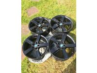 "Set of 4 BMW 19"" alloys in good condition"