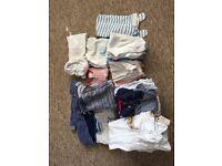 Large Bundle of Boys 6-9 months Clothes, M&S, George etc. Good condition.