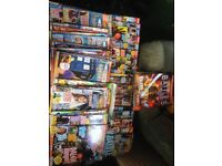 Selection of doctor who magazines/comics