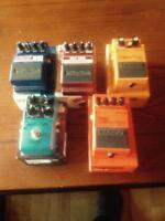 Guitar pedals 350  OBO