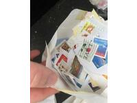 Old Postage Stamps full bag