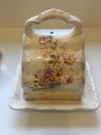 Beautiful antique cheese dish with hall mark - see photo.