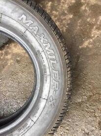 Tyres 175/14 RC van tyres