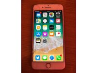 iPhone 7 Plus red 128GB, cracked screen O2