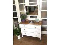 SHABBY CHIC DRESSING TABLE/CHEST FREE DELIVERY LDN 🇬🇧
