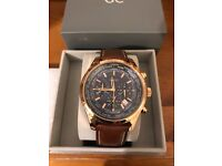 Brand new Half price Guess Men's Quartz Watch (W0500G1) with Blue Dial Analogue Displaysx