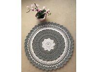Handmade crochet Rug/ Carpet