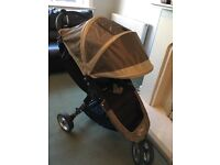 Baby Jogger City Mini Stroller with Rain Cover and Cosy Toes fleece