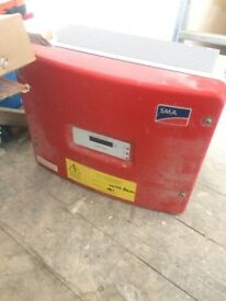 Used SMA Sunny Boy 3300KW Solar Inverter (with Bluetooth connector)