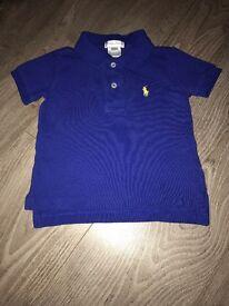Ralph Lauren Polo Shirt Age 9months