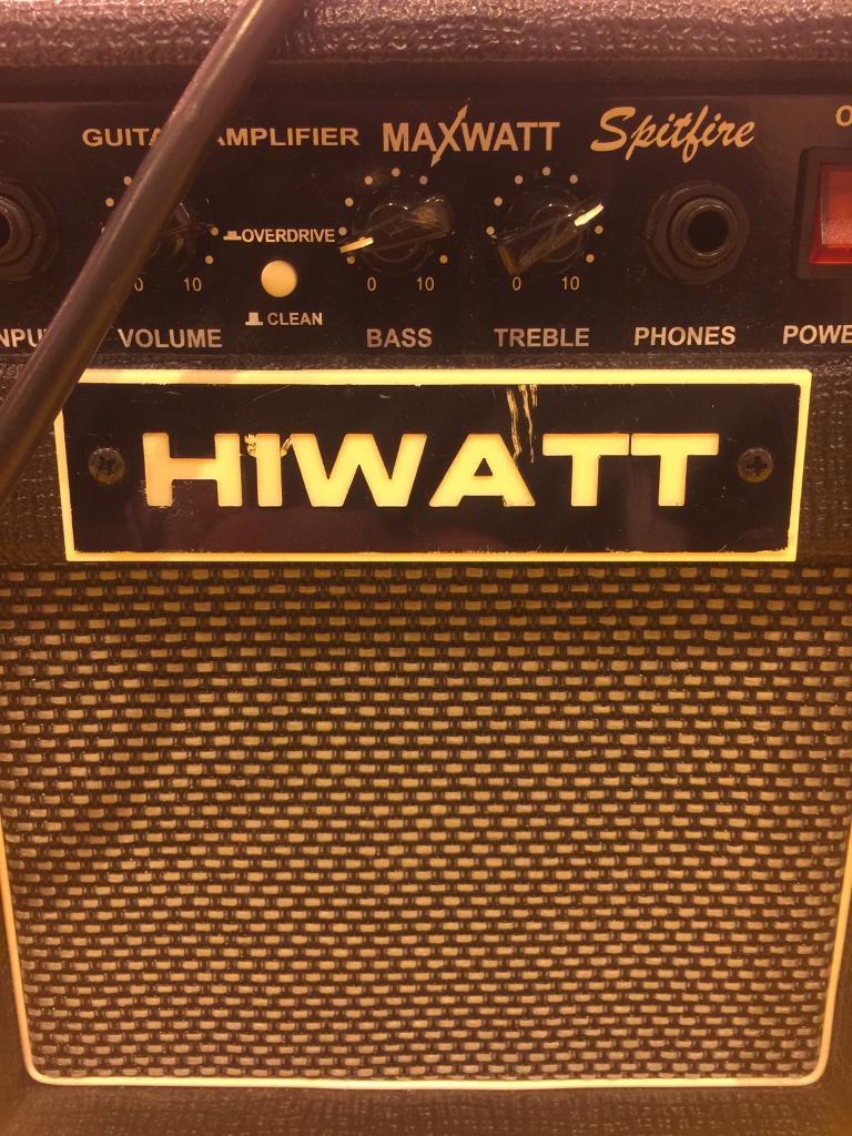 Hiwatt Maxwatt Spitfire 12w Practice Guitar Amplifier In Lisburn Audio