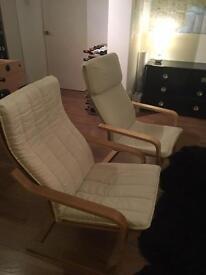Two nice arm chairs and sofa