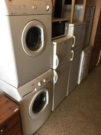 Washing machine dryer fridge freezer cooker