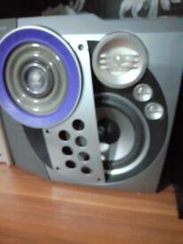 Philips speakers Grey