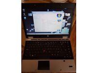 laptop hp 8440p i7-cpu 620m 8gb ram 500 hdd screen 14'' webcam