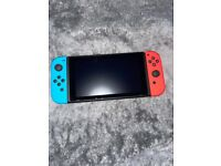 Nintendo Switch Neon Red/Blue New used