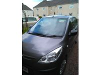 HYUNDAI i10 2010 £30 per year tax low ins, AMAZING WEE CAR, 380 miles to a tank £28 fills it