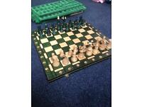 "Brand New 21"" High Quality Chess Set"