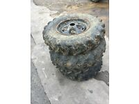 Dumper Tyres on Land Rover Wheels 750 R 16