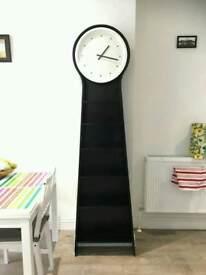 IKEA PS PENDEL Floor clock / shelf / bookshelf