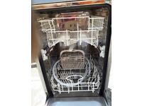 under counter slimline dishwasher