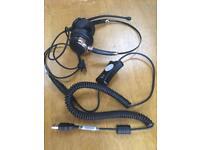 VXI X100 Usb adapter + VXI telephone headset