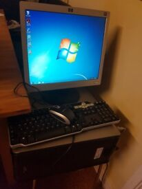 Dell Optiplex 320 Tower PC + LCD Monitor