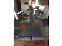 Slate Dinner Place Settings (4) (ex cond)