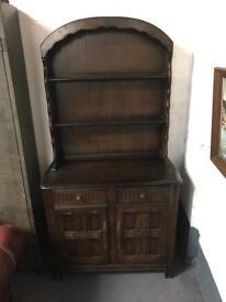 Stunning vintage Welsh dresser cabinet can deliver