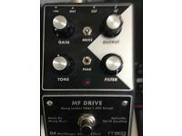 Moog mf drive pedal